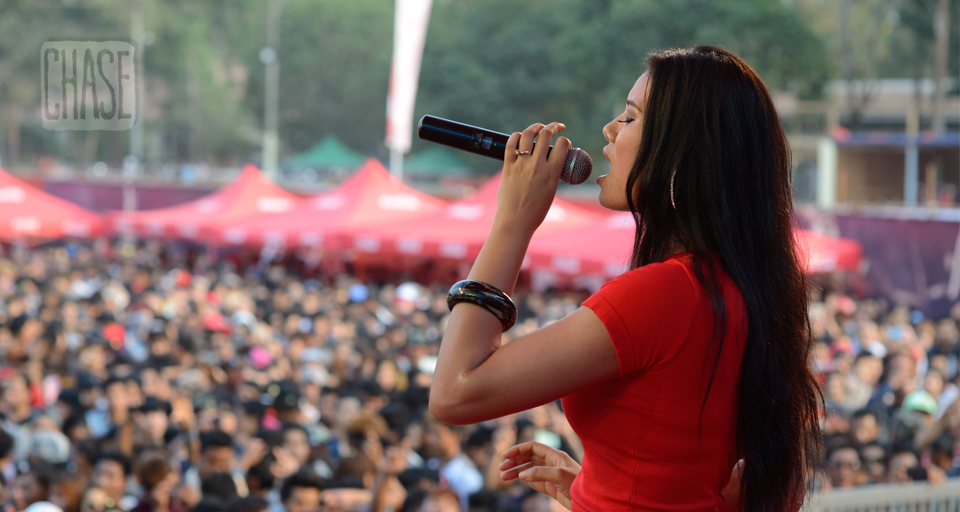 Chan Chan Singing at Coke Event