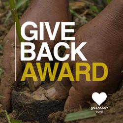 Greenheart Travel's Give Back Award