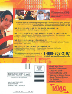 Flyer for MMC College (Backside)