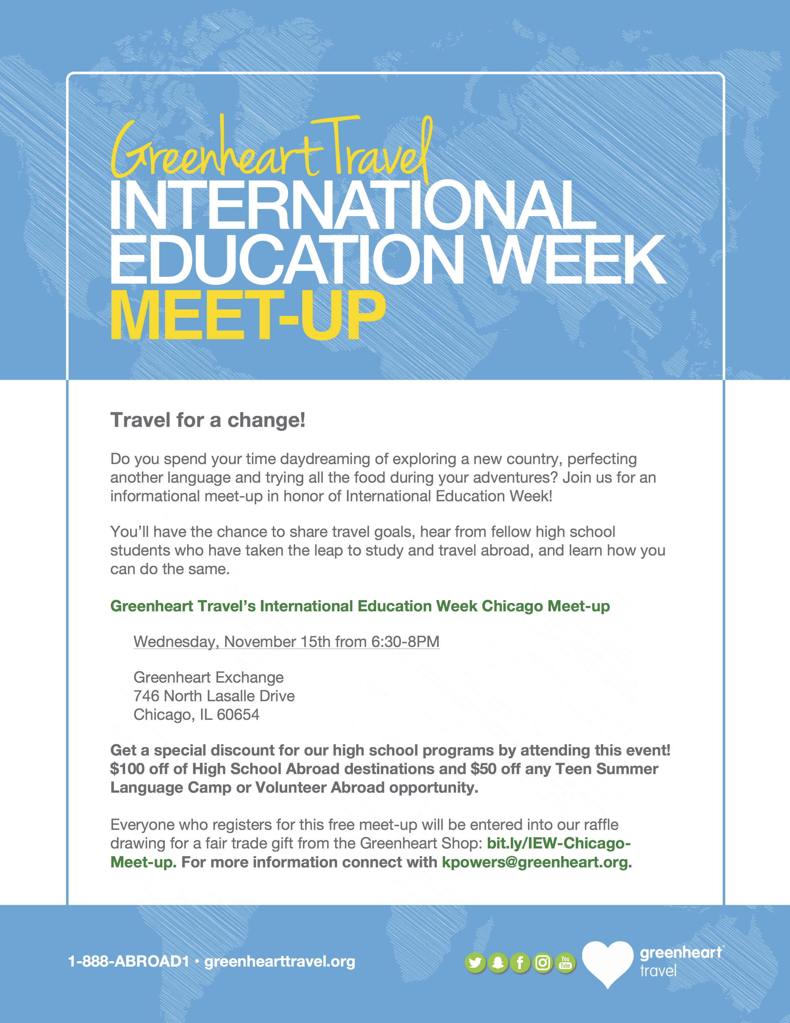 International Education Week Poster
