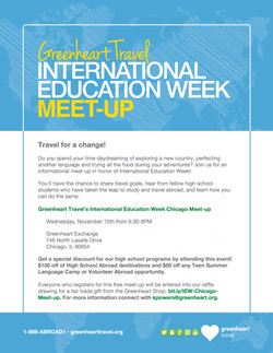 International Education Week Poster