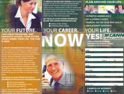 Brochure for a School (Inside)