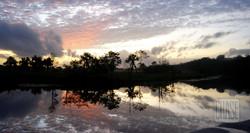 Sunset at Santa Mission, Guyana