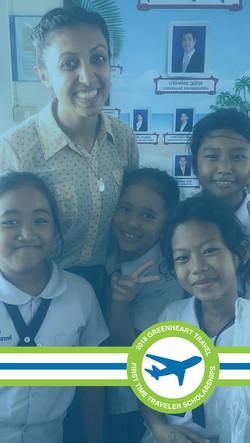 Traveler Scholarships Snapchat Image