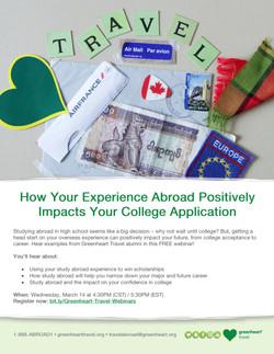 Greenheart Travel Webinar Flyer