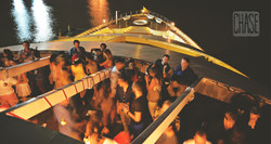 Guests on a Boat in Yangon, Myanmar