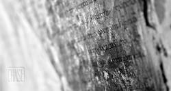 Burmese Script on a Temple Wall