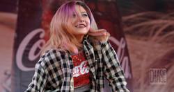 Dancer at Coca-Cola Event in Myanmar