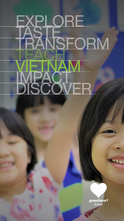 Teach in Vietnam Instagram Story