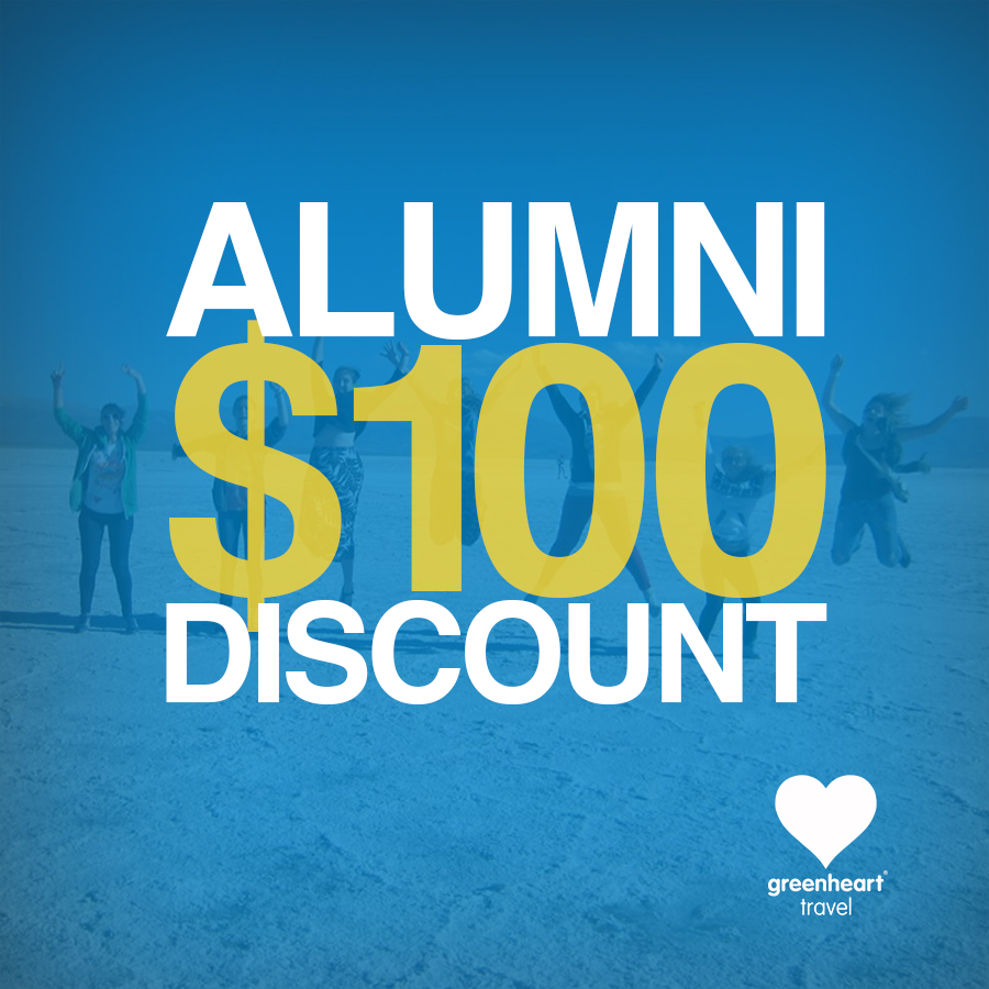 Greenheart Travel Alumni Promo