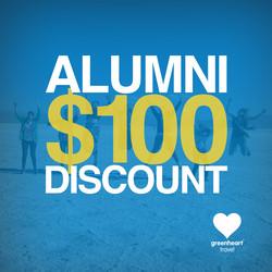 Greenheart Travel Alumni Promo
