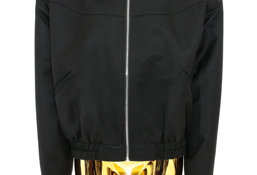 JOHN / Spread Collar Jacket / Black