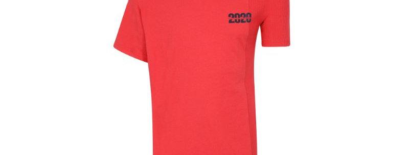 Martine Rose / T-Shirt W/ Side Rib / Red