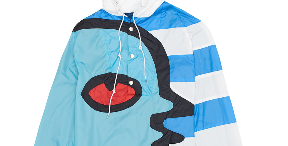 Charles Jeffrey / NYLON SPORTS JACKET / BLUE STRIPE