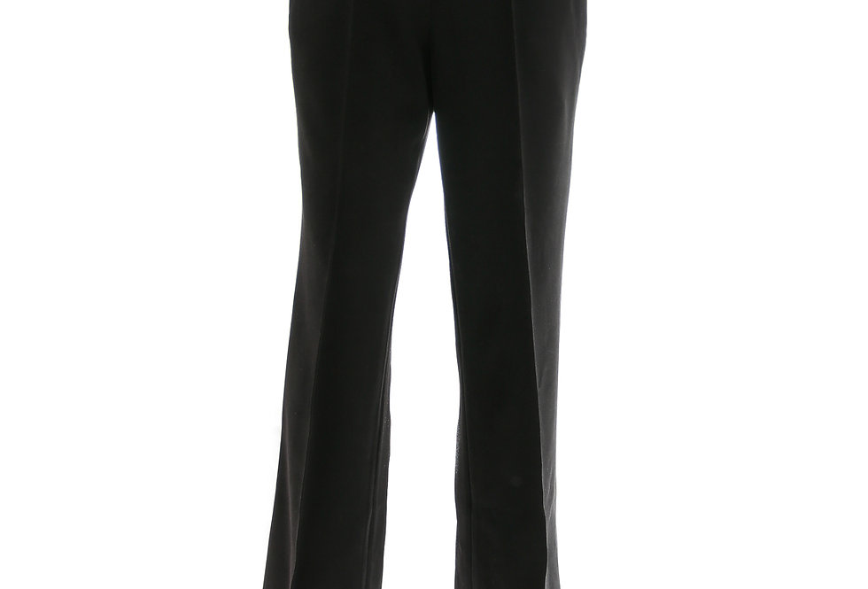 JOHN / Black Basic Trousers