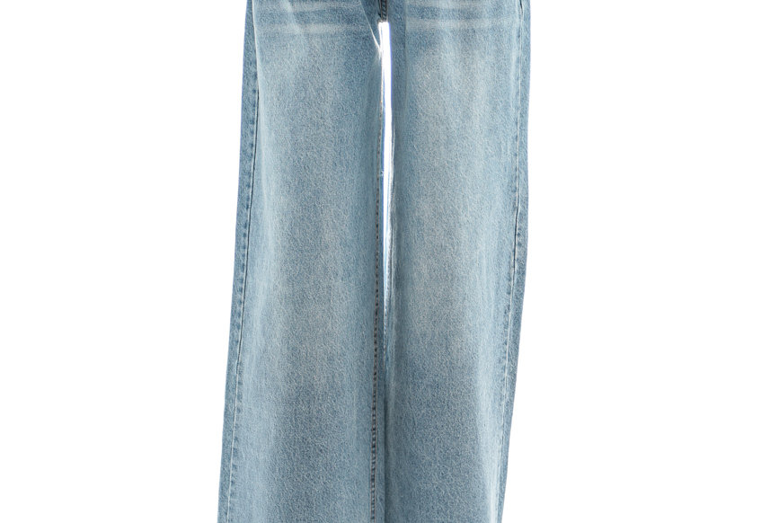 NODRESS / Light-colored low-waisted boyfriend baggy jeans
