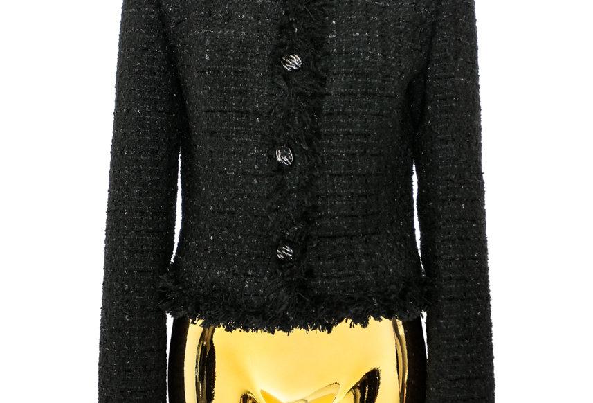 JOHN / Tweed Jacket / Black