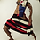 Thumbnail: Charles Jeffrey /  SLASH STRIPE JUMPER / RED BLACK WHITE