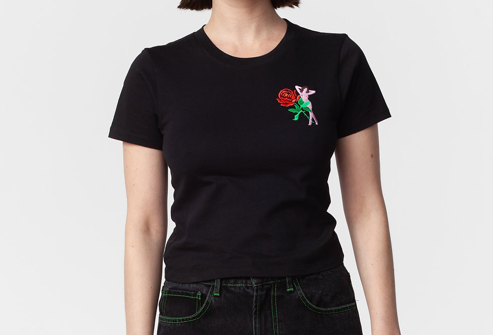 "Carne Bollente / ""ORPHESSÉE"" Baby T-Shirt / Black"
