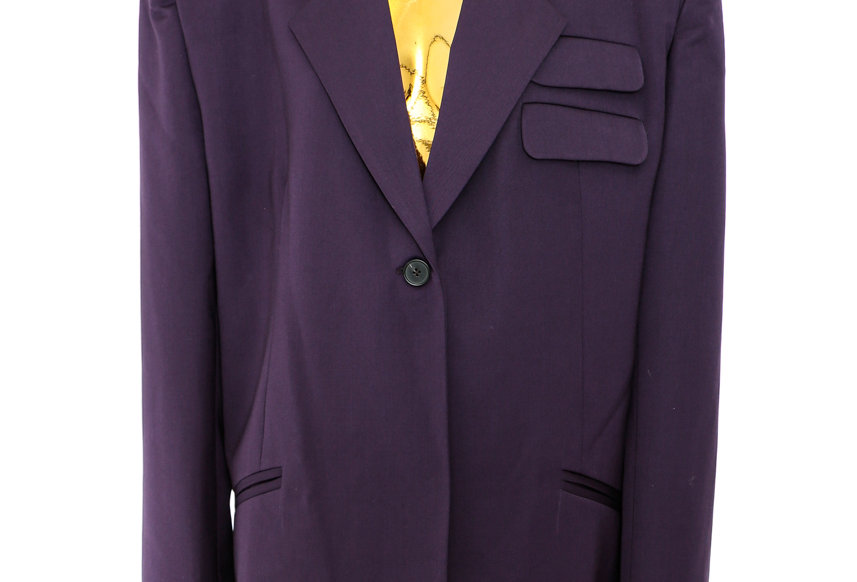 JOHN / Double Pocket Blazer / Purple