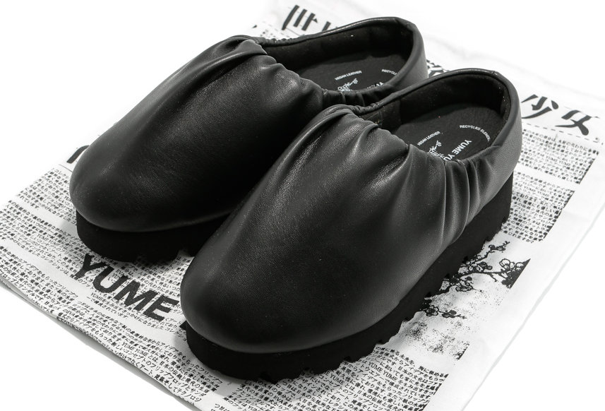 YUME YUME / NAWA CAMP SHOE LOW BLACK