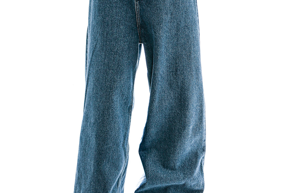 Y/PROJECT / CLASSIC PEEP SHOW JEAN / NAVY