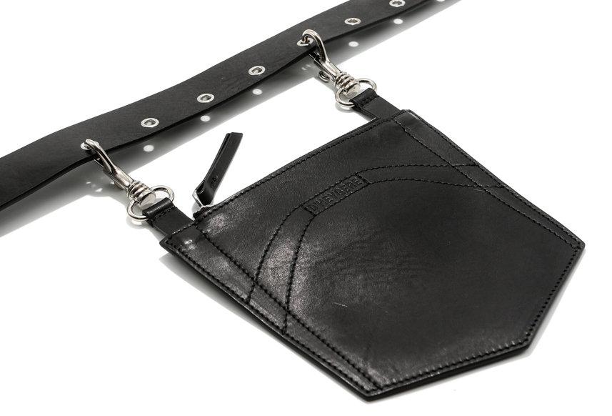 D'HEYGERE / Pocket Belt / Black