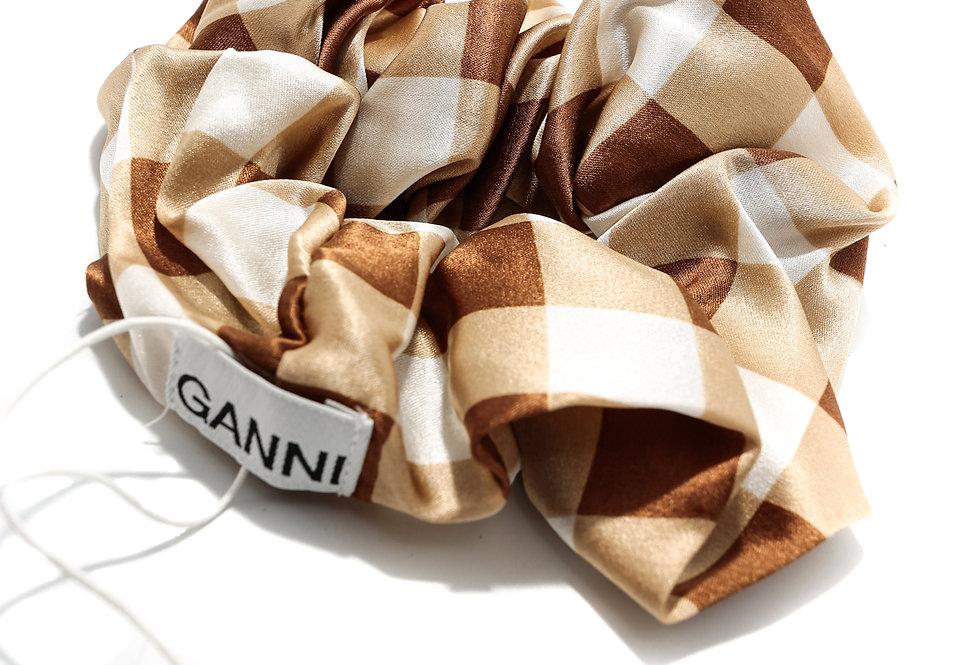 GANNI / Scrunchie / Toffee