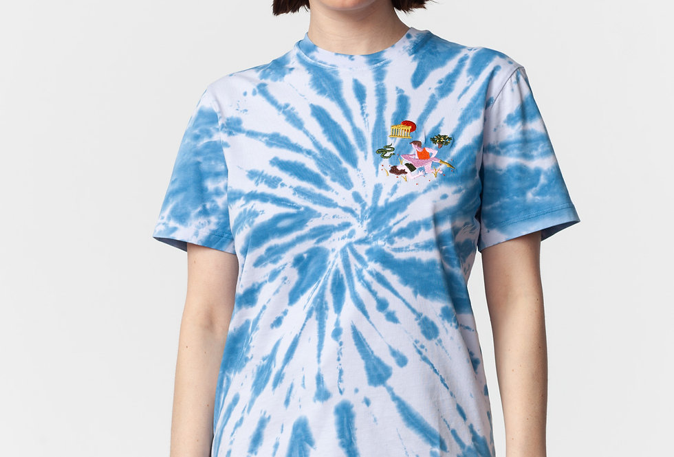 "Carne Bollente / ""J'USE CÉSAR"" T-Shirt / Tie & Dye"