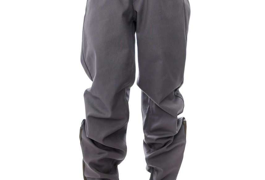 GR10K / KLOPMAN MERIT ARCHITECTONIC PANTS / CONVOY GREY