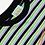 Thumbnail: Aries / Striped Temple Tee / Green