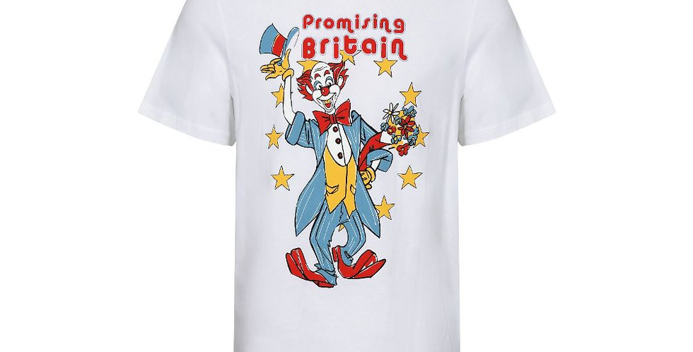 Martine Rose / T-Shirt W/ Clown Artwork / White