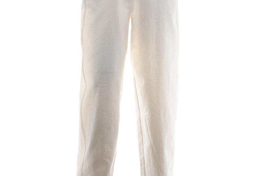 JOHN / Multiple Belt Loop Trousers / White