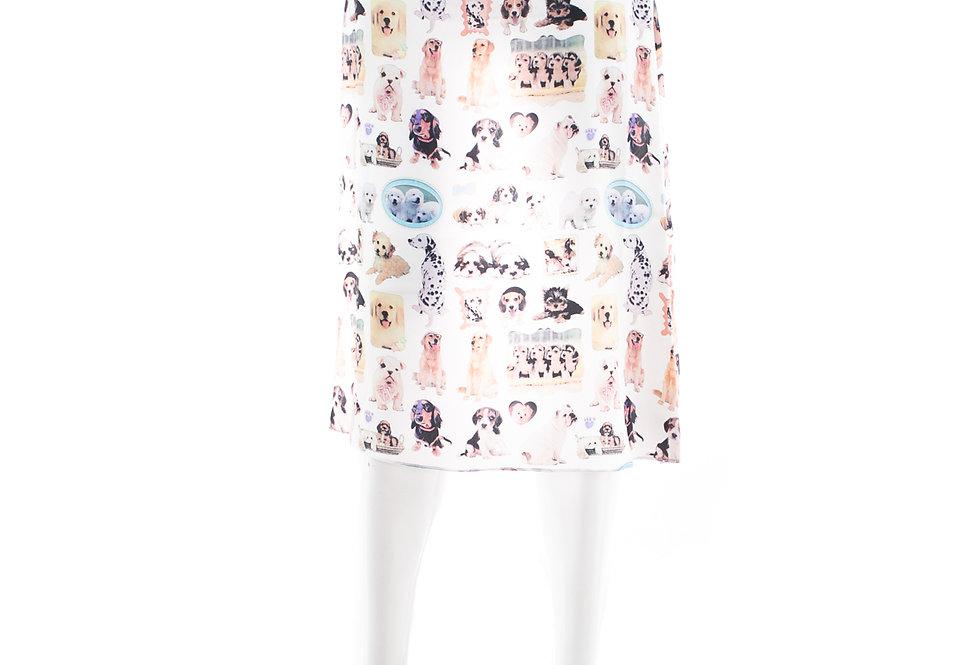 Ashley Williams / Slip Skirt / Puppies