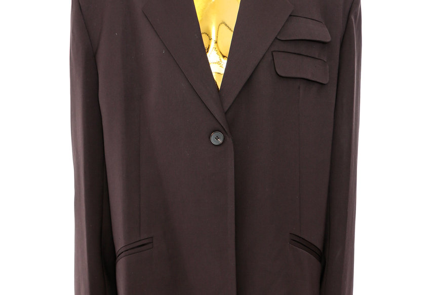 JOHN / Double Pocket Blazer / Brown