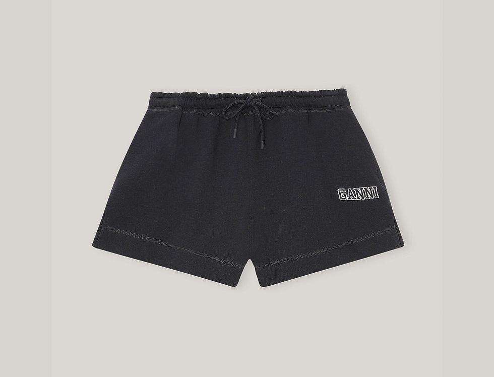 GANNI / Software Drawstring Shorts / Black