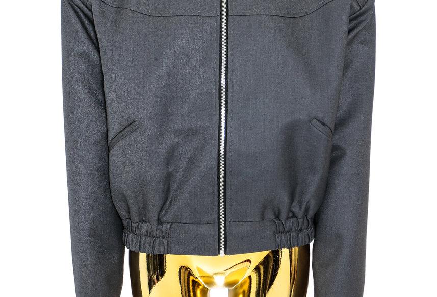 JOHN / Spread Collar Jacket / Grey