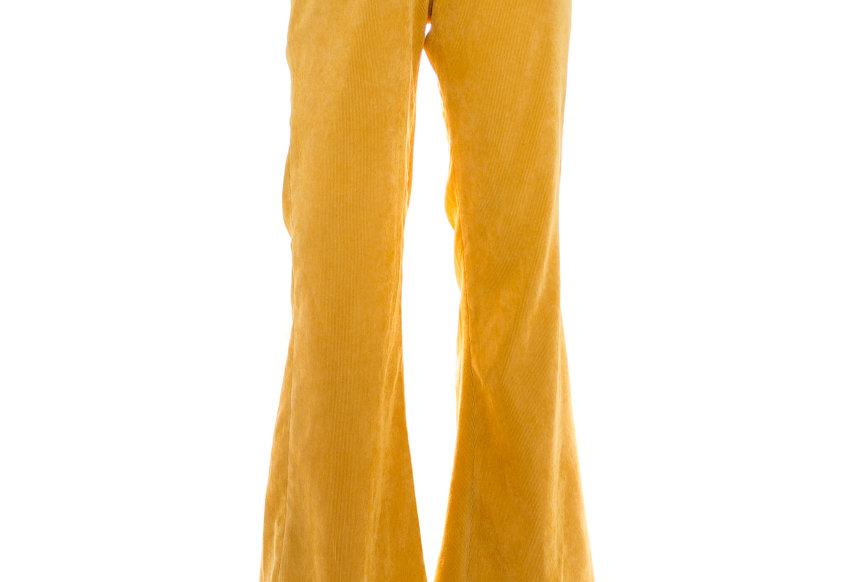 JOHN / YELLOW FLARE PANTS