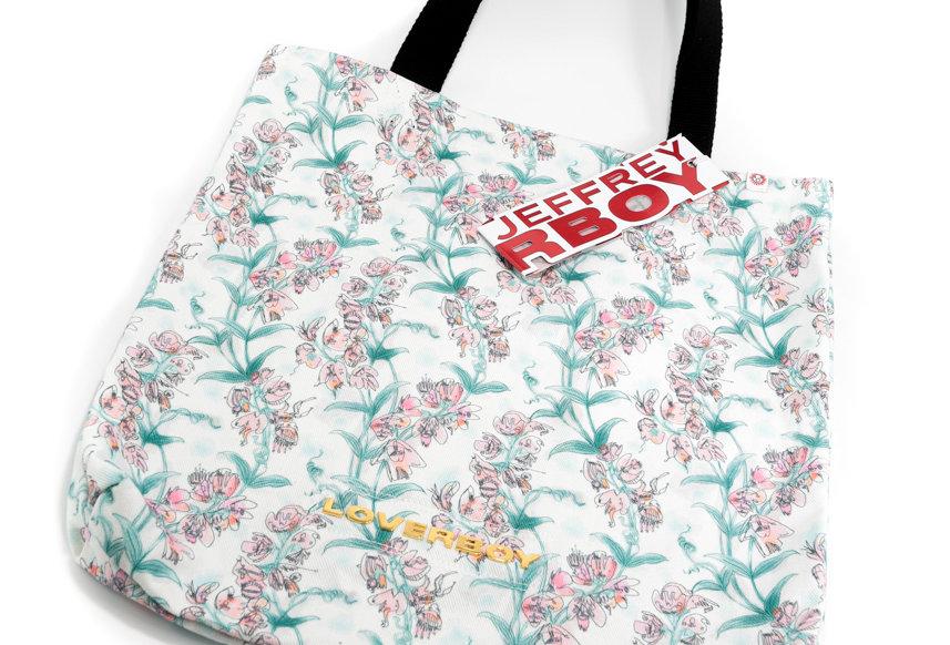 Charles Jeffrey / Tote Bag / Blooms Print