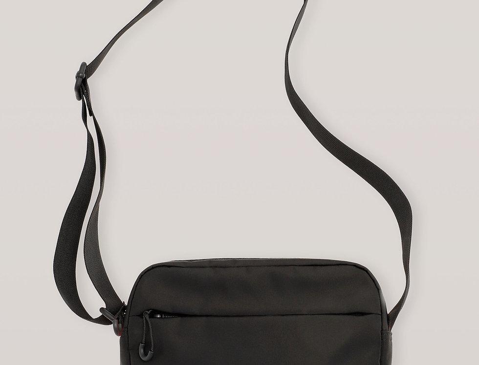 GANNI / Recycled Tech Fabric Bag / Black