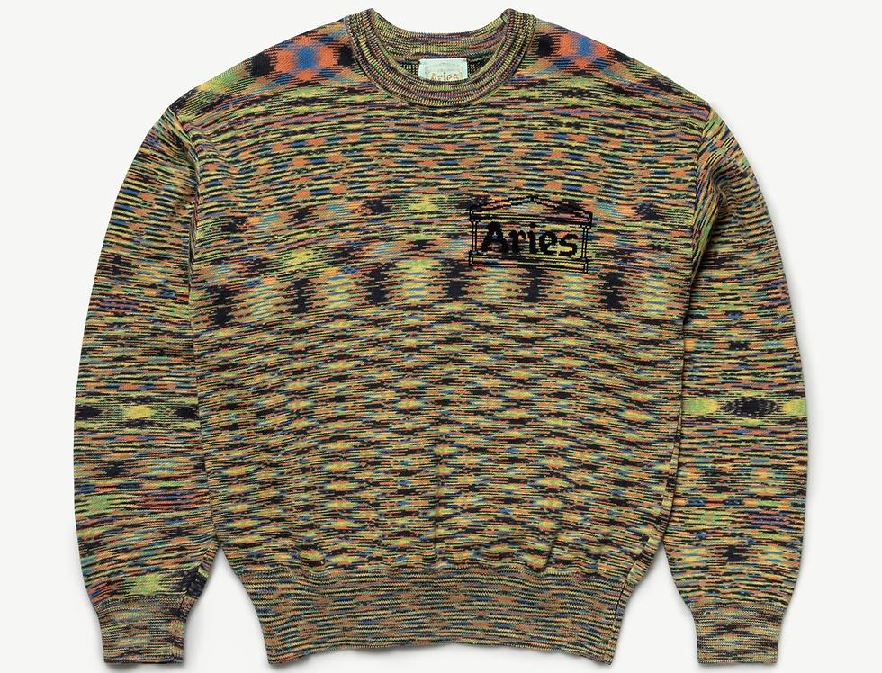 Aries / Magic Eye Temple Knit / Black