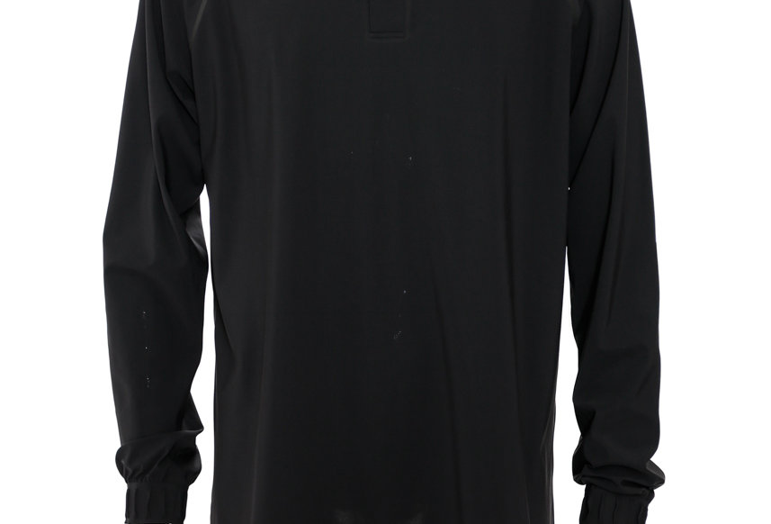 GR10K / ULTRASOUND LABOURER POLO SHIRT / BLACK
