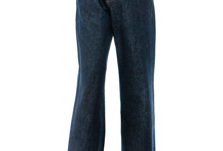 JOHN / Navy Oblique High Waist Jeans