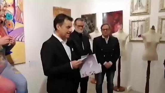Testo critico di Federico Caloi alla Mostra presso la Galleria Arcadia di Milano del 2020