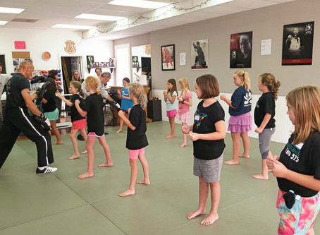 Girl Scout Self Defense Class: March 29th