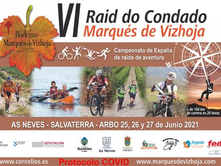 El VI Raid do Condado-Marqués de Vizhoja supone prueba del calendario de la Liga Española de Raids