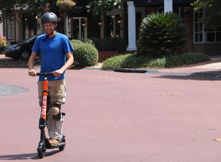 Tallahassee on Two Electric Wheels, For Now