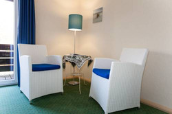 Pension Zimmer Sessel