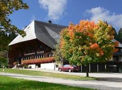 Hirschen Haus Herbst