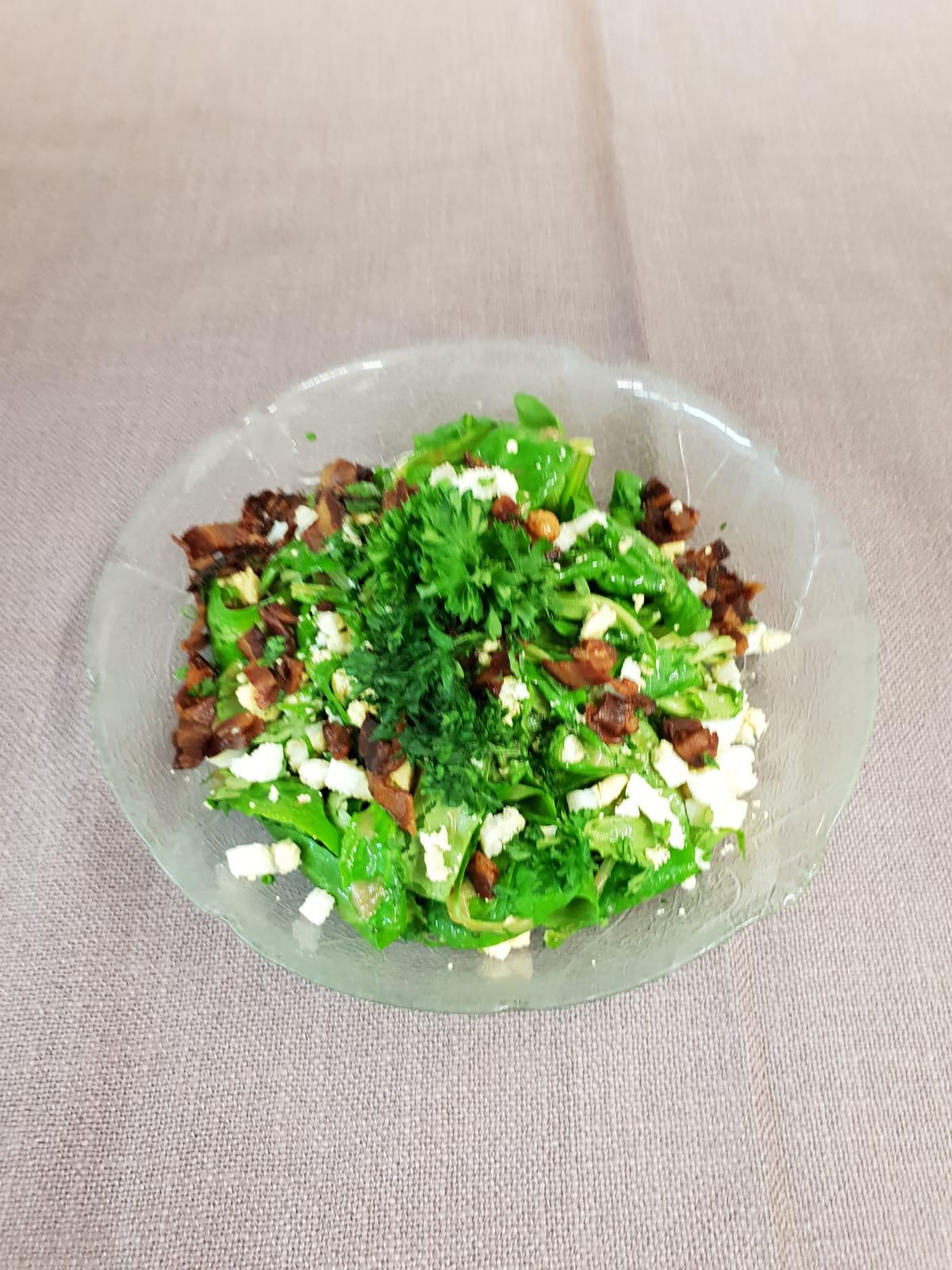 bild Pilz Salat